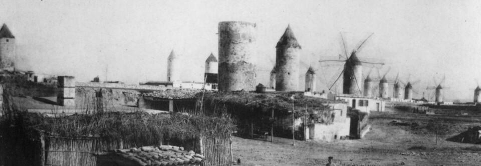 Molinar de Llevant. Palma, hacia 1900.